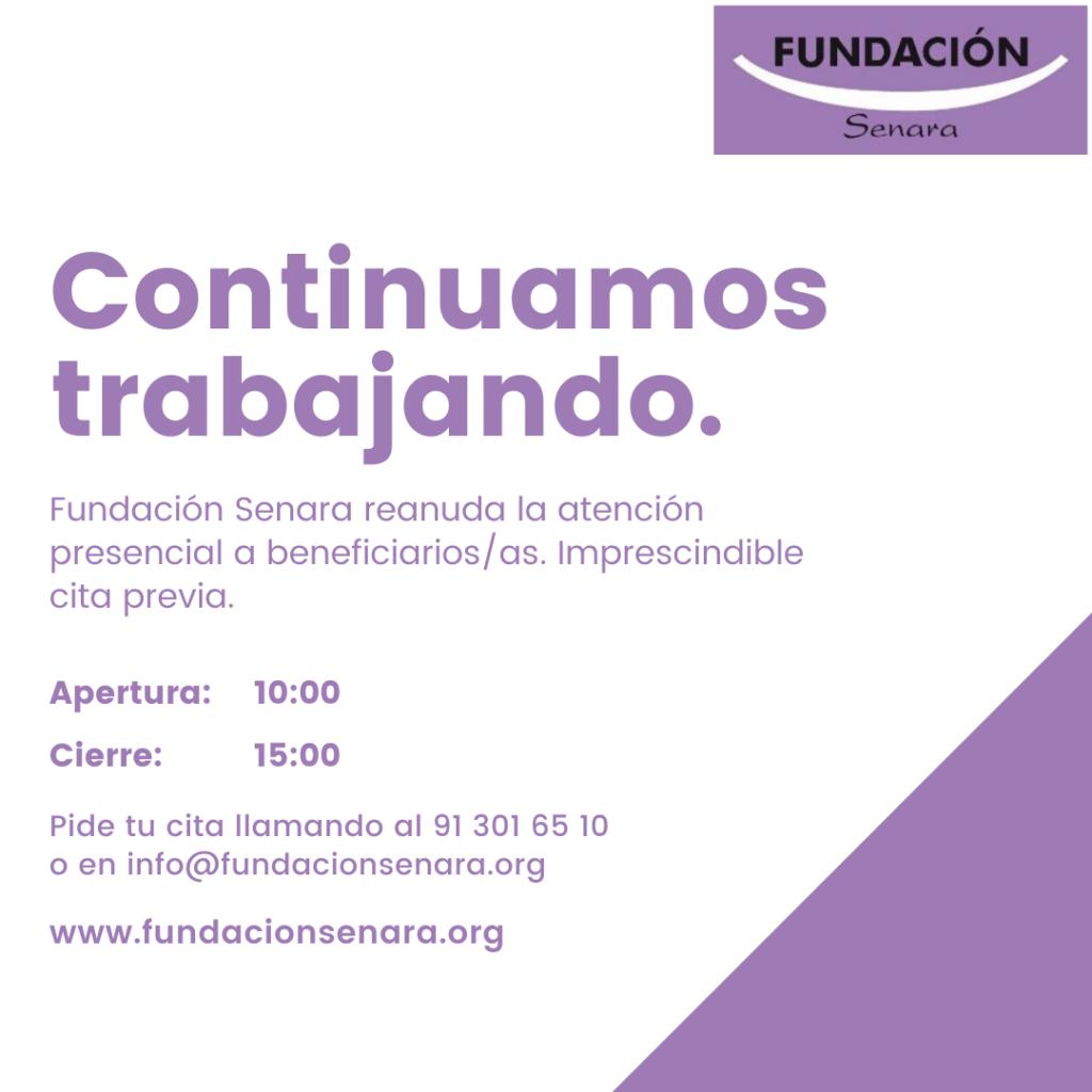 Fundación Senara Covid 19