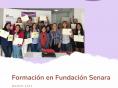 Formación en Fundación Senara durante el mes de marzo